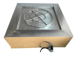 42inches Outdoor fire pit stainless steel