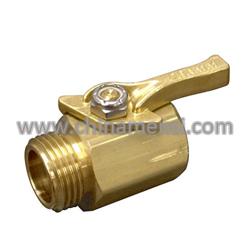 Heavy-Duty Brass Shut-Off Valve