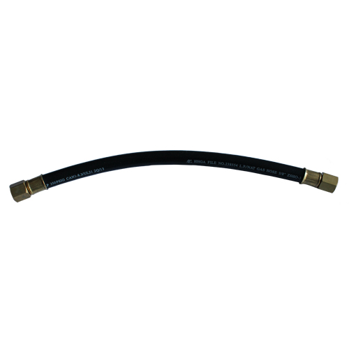 Gas rubber hose