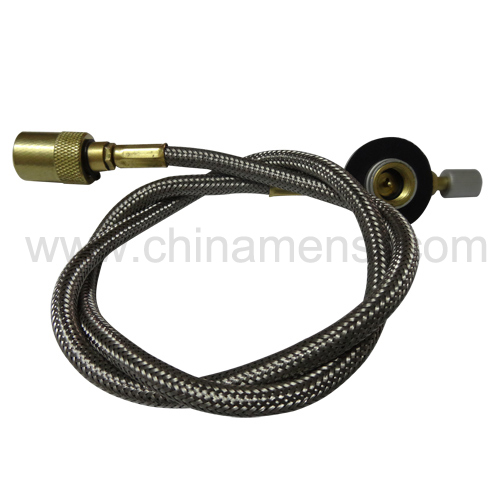 Camping stove flexible hose